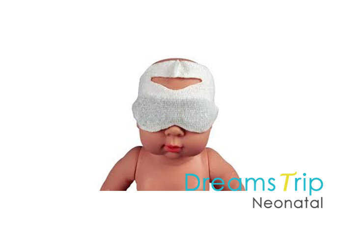 Medical Neonatal Phototherapy Protector Eye Clinical Sterile Mask Customized